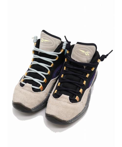 REEBOK(リーボック)REEBOK (リーボック) QUESTION MID MU / クエスチョンミッド マルチカラー サイズ:USA9/UK8/EUR42/27cm ×Nice Kicks ナイスキックスコラボの古着・服飾アイテム