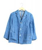 45R(フォーティファイブアール)の古着「藍リネンデニムジャケット」|インディゴ
