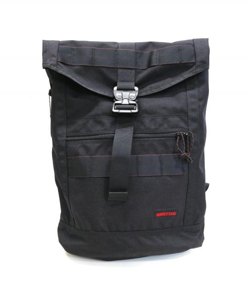 BRIEFING(ブリーフィング)BRIEFING (ブリーフィング) リュック / ミッションフラップバックパック ブラック MISSION FLAPの古着・服飾アイテム