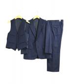 Burberrys(バーバリーズ)の古着「3ピースセットアップスーツ」|ネイビー