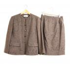 Mila Schon(ミラショーン)の古着「ウールセットアップ」|ブラウン