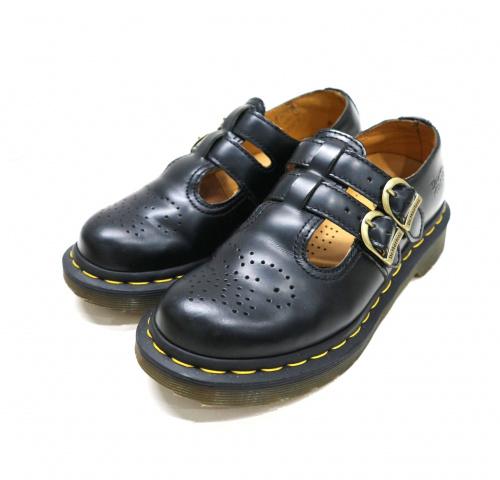 Dr.Martens(ドクターマーチン)Dr.Martens (ドクターマーチン) ストラップシューズ ブラック サイズ:SIZE 23cm MARY JANE/メリージェーンの古着・服飾アイテム