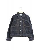 SERGE de bleu(サージ)の古着「1-2ndタイプデニムジャケット」|グレー