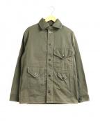 POST OALLS(ポストオーバーオールズ)の古着「クルーザージャケット」|カーキ