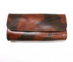 SLOW(スロウ)の古着「カモフラージュロングウォレット / レザー長財布」|ブラウン