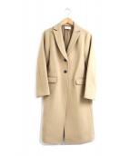 ()の古着「ウールチェスターコート」 キャメル