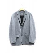 FRANK LEDER(フランクリーダー)の古着「3Bウールジャケット」|グレー