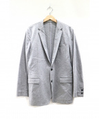 SOLIDO(ソリード)の古着「コットン天竺テーラードジャケット」|グレー