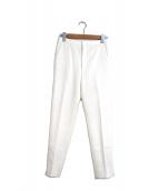 ()の古着「カルゼストレッチパンツ」|オフホワイト