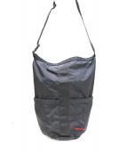 ()の古着「リップストップナイロンショルダーバッグ」|ブラック