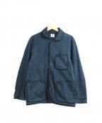 SAMURAI JEANS(サムライジーンズ)の古着「刺し子ビーチクロスジャケット」 インディゴ