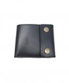 ROTAR(ローター)の古着「レザーショートウォレット / 財布」|ブラック