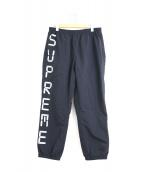 Supreme(シュプリーム)の古着「デジタルロゴトラックパンツ」|ブラック