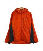 mont-bell(モンベル)の古着「ULサーマラップパーカー」|オレンジ