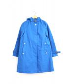 Traditional Weatherwear(トラディショナルウェザーウェア)の古着「はっ水加工フーデッドコート」|ブルー