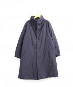 plantation()の古着「製品染め中綿コート」 パープル