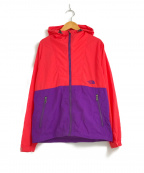 THE NORTH FACE()の古着「コンパクトジャケット」|レッド×パープル