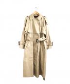 Unaca(アナカ)の古着「別注ボリュームシルエットトレンチコート」|ベージュ