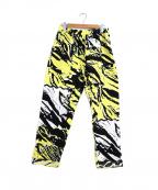 PHINGERIN(フィンガリン)の古着「イージーナイトパンツ / パジャマパンツ」|イエロー×ブラック