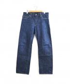 TENDERLOIN(テンダーロイン)の古着「セルビッチデニムパンツ」|インディゴ