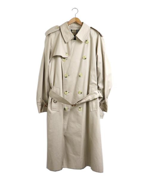 Burberrys(バーバリーズ)Burberrys (バーバリーズ) [OLD]英国製オーバーサイズトレンチコート ベージュ サイズ:50REG オールドバーバリー イングランド製の古着・服飾アイテム