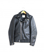 Lewis Leathers(ルイスレザース)の古着「サイクロン ダブルライダースジャケット」 ブラック