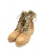US ARMY(ユーエスアーミー)の古着「コンバットデザートブーツ / ミリタリーブーツ」|ベージュ