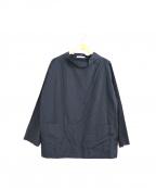 J.W. ANDERSON(ジェイダブリューアンダーソン)の古着「スモックシャツ」|ブラック