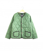 LAVENHAM(ラベンハム)の古着「キルティングジャケット」|オリーブ/GREENSWARD