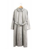 Dessin de mode(デッサンデモード)の古着「ステンカラーコート」|グレー