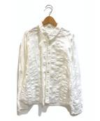 ()の古着「シワ加工シャツ」|ホワイト