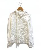 plantation(プランテーション)の古着「シワ加工シャツ」 ホワイト