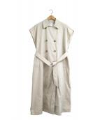 PUBLIC TOKYO(パブリックトウキョウ)の古着「ヴィンテージトレンチジレ」|ベージュ