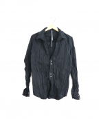 wjk(ダブルジェイケー)の古着「hook shirt / フックシャツ」|ブラック