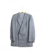 Christian Dior MONSIEUR(クリスチャンディオールムッシュ)の古着「ウールダブルジャケット」|グレー