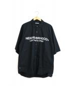 NEIGHBORHOOD(ネイバーフッド)の古着「トラッドコットンブロードシャツ」|ブラック