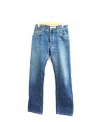 JACOB COHEN()の古着「ウォッシュ加工デニムパンツ」|インディゴ