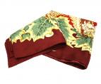 ()の古着「アニマル柄スカーフ」|ボルドー