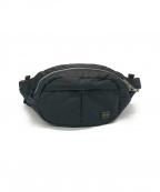 HEAD PORTER(ヘッドポーター)の古着「オーバルウエストバッグ」|ネイビー