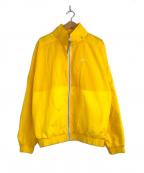 NIKE()の古着「メイドインイタリートラックジャケット」|イエロー