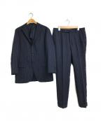 RING JACKET(リングジャケット)の古着「段返り3ボタンスーツ」 ネイビー