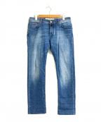 JACOB COHEN(ヤコブコーエン)の古着「ストレッチタイトジーンズ」|スカイブルー