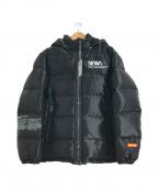 HERON PRESTON(ヘロンプレストン)の古着「ダウンパファージャケット」|ブラック