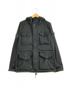 ()の古着「タクティカルスモックジャケット」 ブラック