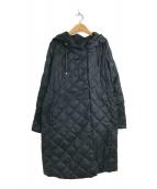 ()の古着「リバーシブルキルティングライトダウンコート」 ブラック