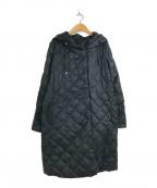 MaxMara(マックスマラ)の古着「リバーシブルキルティングライトダウンコート」|ブラック