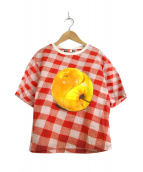 ()の古着「転写プリントTシャツ」 マルチカラー