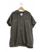 ()の古着「オープンカラーシャツ / 開襟シャツ」 グレー