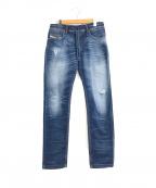 DIESEL(ディーゼル)の古着「ジョグジーンズ / スウェットデニムパンツ」 インディゴ