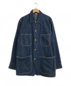 45R(フォーティファイブアール)の古着「デニムカバーオール」|インディゴ